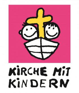 Kirche mit kindern pink